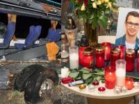 Pohreb mladého Alexa († 16) z autobusu smrti: Užialená matka pri hrobe syna SKOLABOVALA!