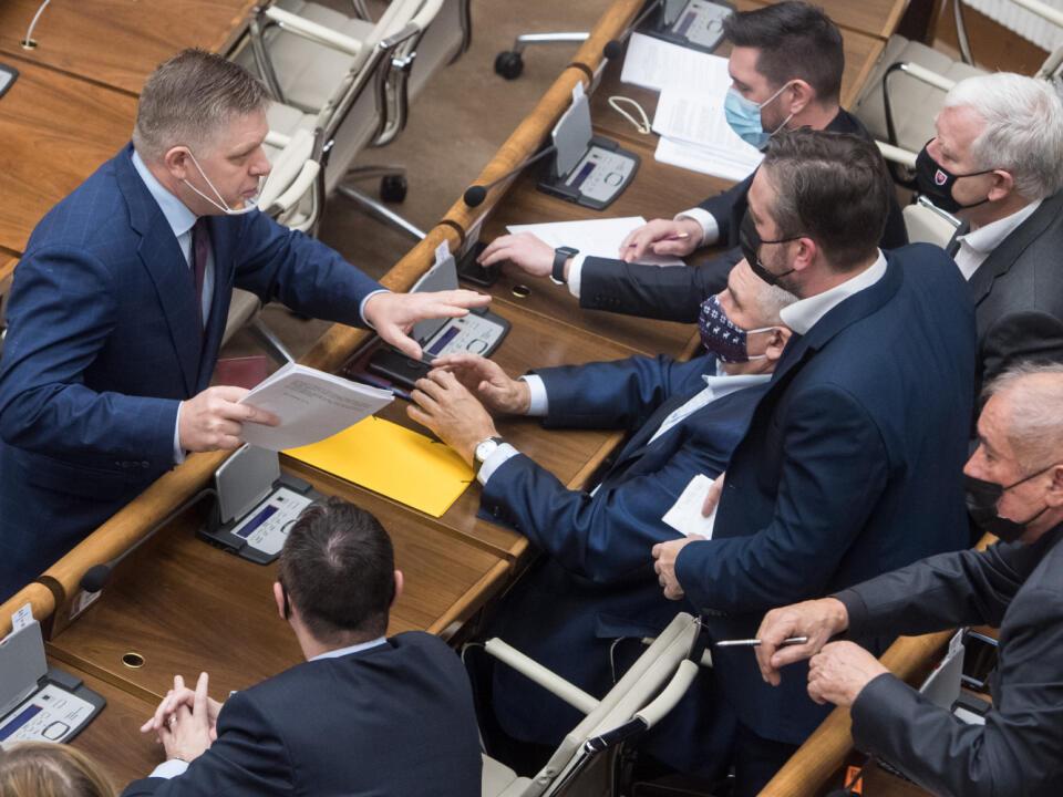Rokovanie 18. schôdze Národnej rady (NR) SR