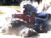 Pancierované vozidlo s pohonom 4x4 úspešne absolvovalo certifikačné testy protimínovej odolnosti. Pozrite si ich na spomalených záberoch.