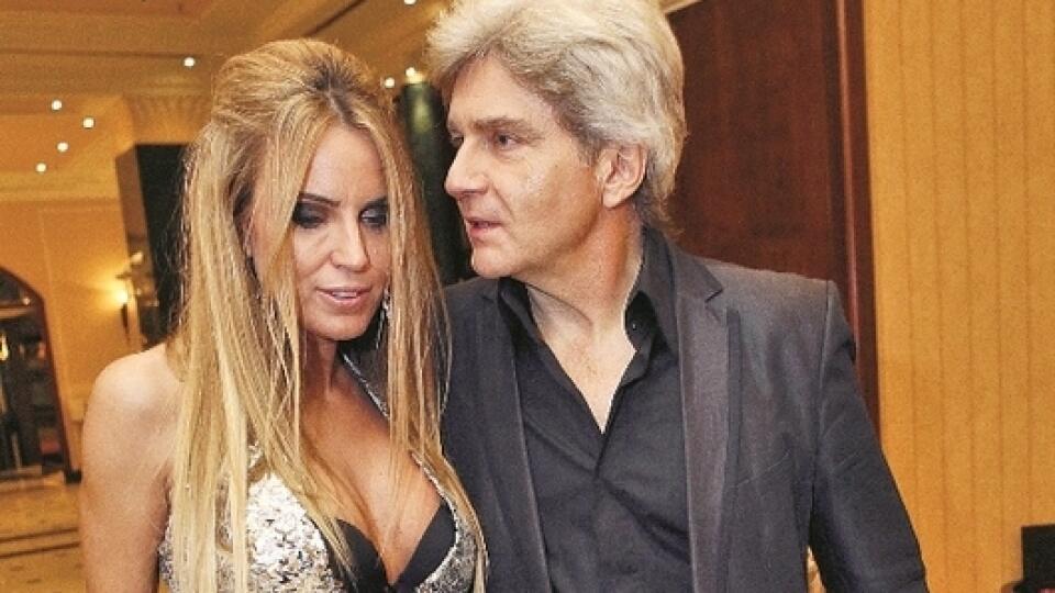 Erika Judínyová s manželom Števom Skrúcaným.