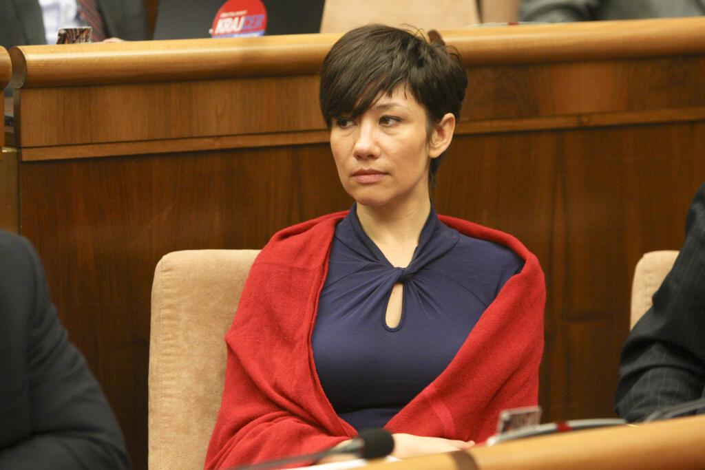 Lucia Ďuriš Nicholsonová bolo v parlamente počuť.