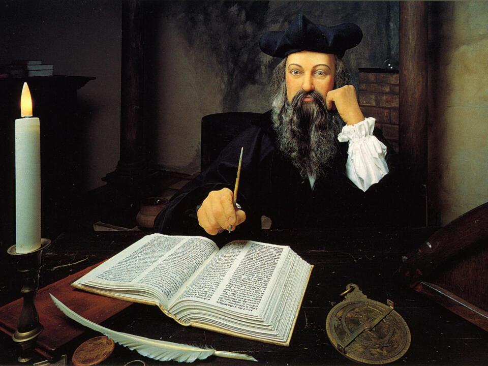 Astrológ a údajný jasnovidec Nostradamus