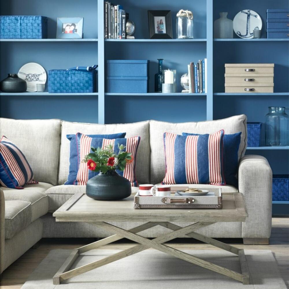 Farba dodá obývačke celkom novú atmosféru.