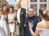 VEĽKÁ GALÉRIA zo SVADBY Malachovskej dcéry: Prišiel i známy herec a AHA na to luxusné fáro!