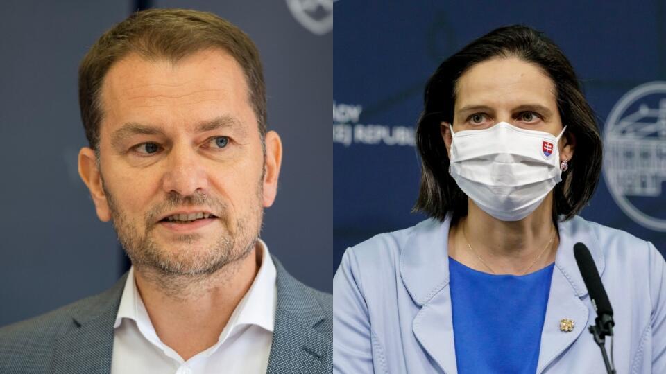 Mária Kolíková a Igor Matovič