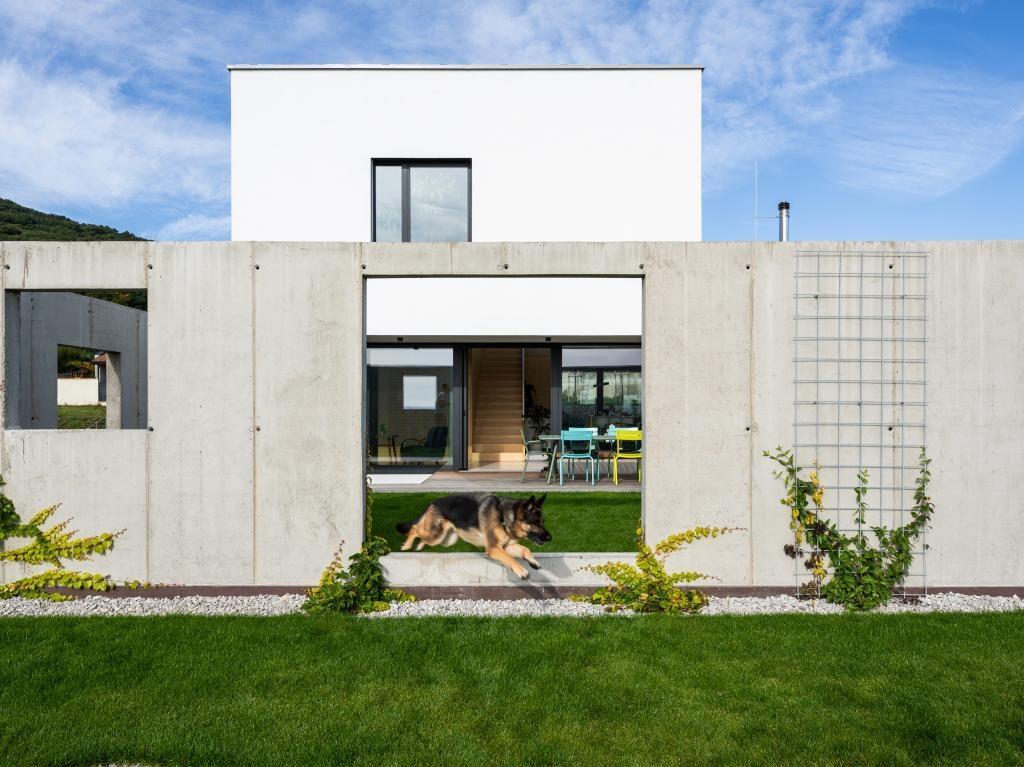Dom pre rodinu s domácimi zvieratkami v Bratislave (Sadovsky Architects)
