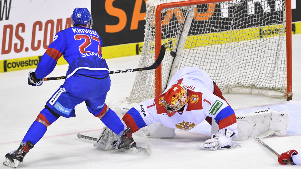 Filip Krivošík a jeho gól proti Rusku