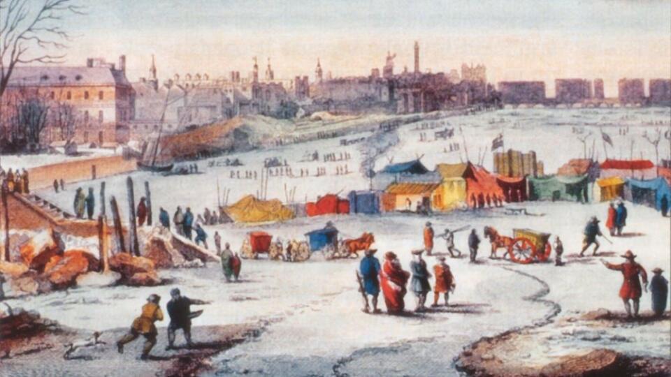 Trh na Temži.