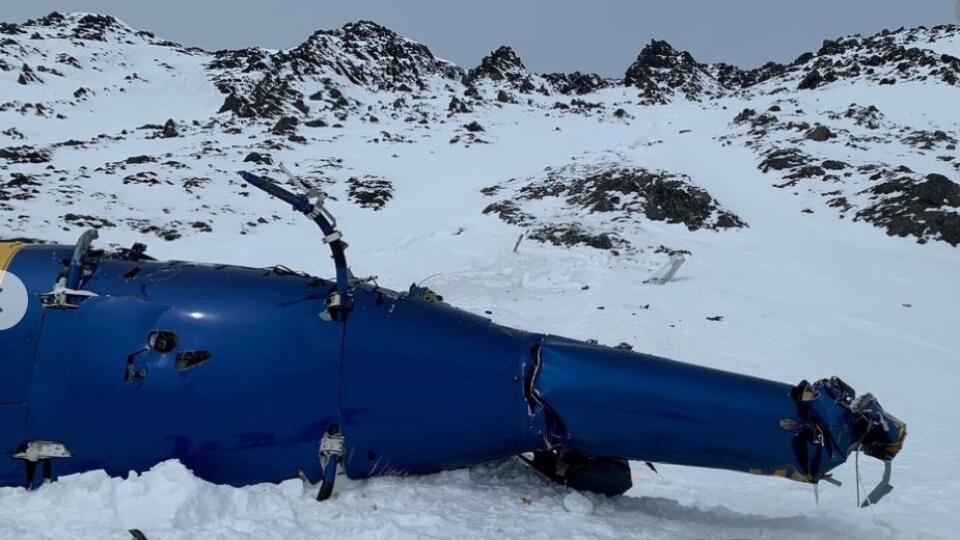 Vrtuľník s Kellnerom manévroval tesne nad hrebeňom | TREND