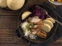 Špaldová domáca knedľa je dokonalým doplnkom k tradičným jedlám
