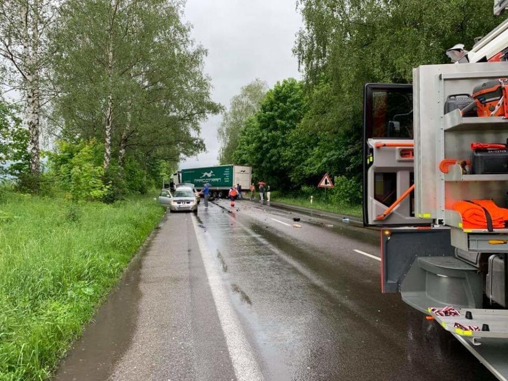 Vážna dopravná nehoda pri Žiline.