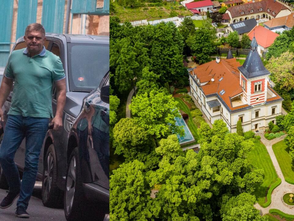 FICOVO LUXUSNÉ ÚTOČISKO Skutočný vlastník barokového kaštieľa vo Vinosadoch je ukrytý v schránkovej firme.