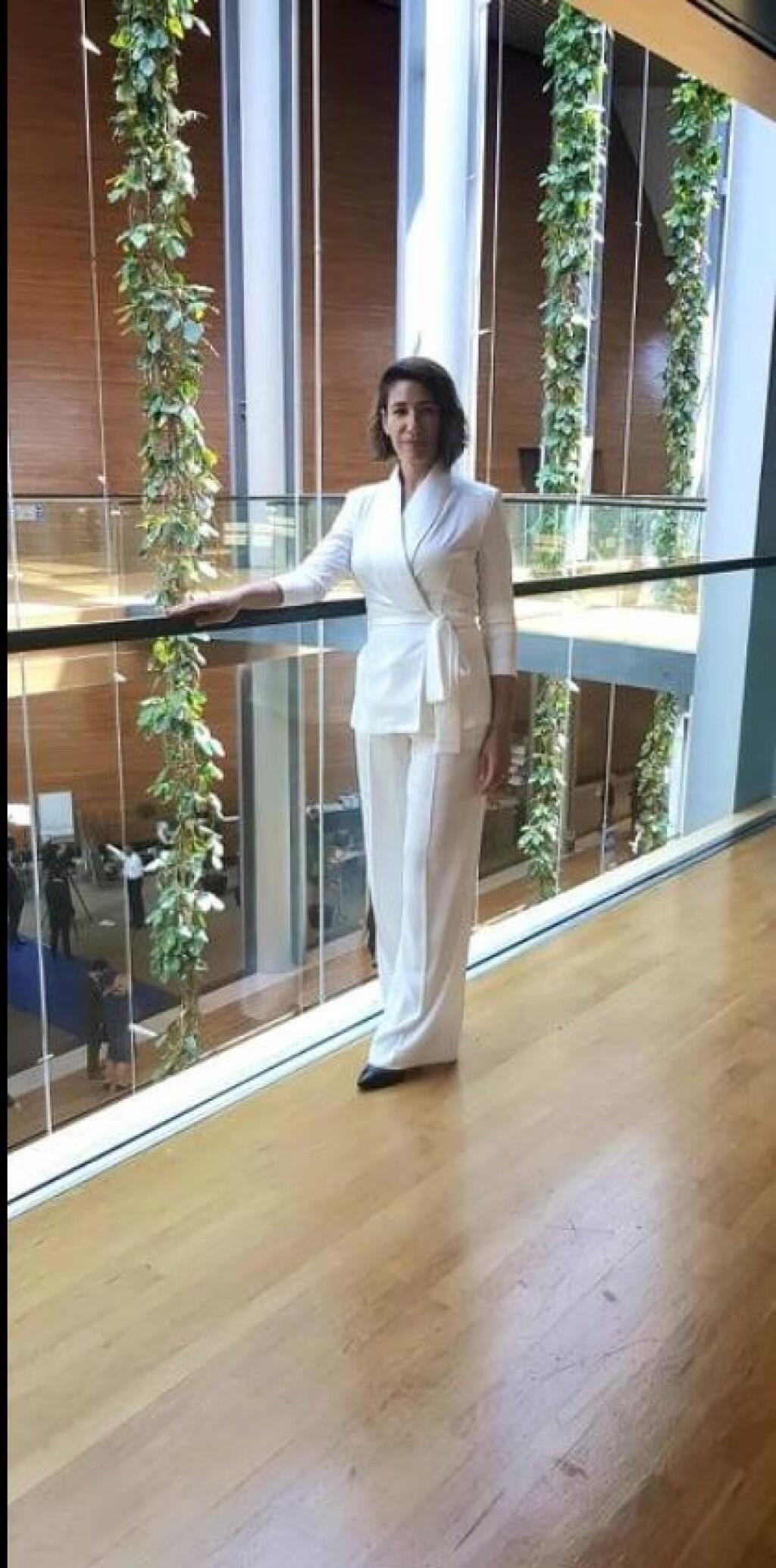 Lucia Ďuriš Nicholsonová sa takto nahodila v svoj prvý deň v europarlamente.