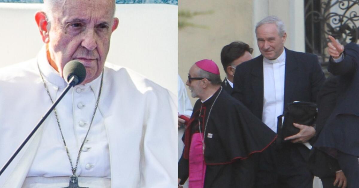 Šok v Šaštíne: Róbert Bezák v kolóne pápeža Františka