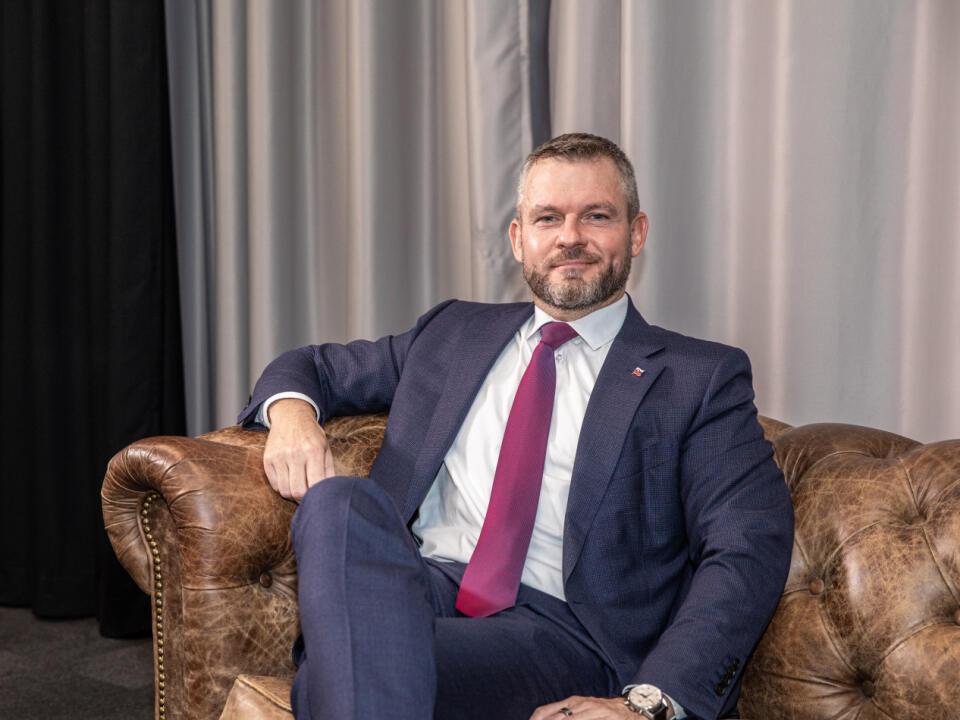 Na snímke je poslanec Národnej rady Slovenskej republiky a predseda strany Hlas- sociálna demokracia Peter Pellegrini.