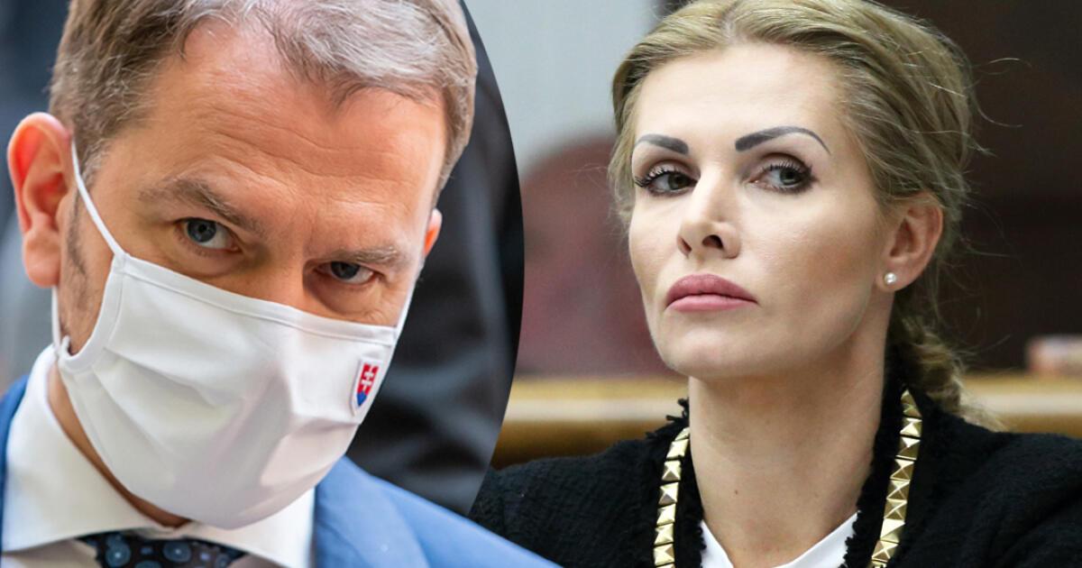 Premiér Matovič rešpektuje rozhodnutie Krištúfkovej: Tým je to pre mňa vybavené, nemiešam sa
