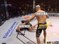 Attila Végh (34) je československým kráľom MMA. V ostrosledovanom súboji dokázal už v prvom kole zdolať českého borca Karlosa Vémolu (34). Práve na hlavu Čecha sa  po veľkohubých vyhláseniach spustila vlna kritiky a aj vtipov.