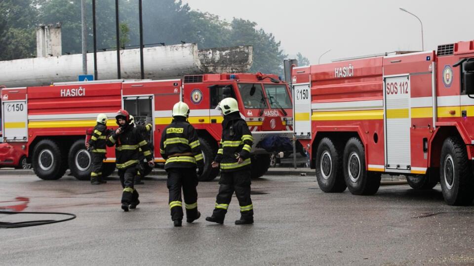 Zásah požiarnikov