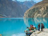 FOTO Fascinujúce modré jazero vzniklo len pred pár rokmi, stvorila ho katastrofa