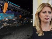Prosba prezidentky Zuzany Čaputovej po tragickej havárii...