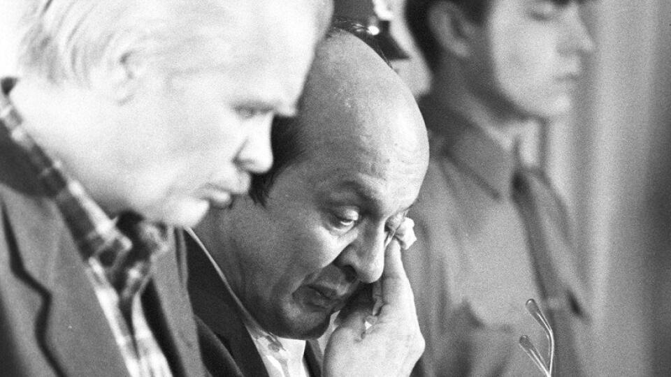 Hlavní aktéri najväčšej jadrovej katastrofy v ľudských dejinách sa v roku 1987 postavili pred súd.