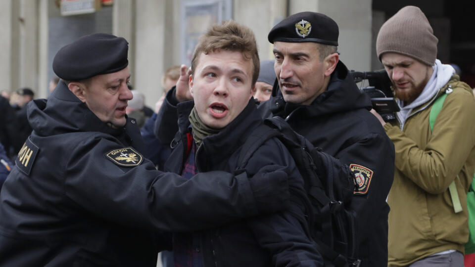 R. Pratasevič sa priznal k organizovaniu nepokojov | TREND