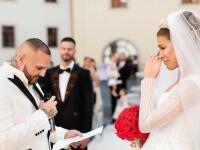 Slzy a plač Jasminy na svadbe: Pri týchto slovách Rytmusa sa neudržala! A raper? Nespoznáte ho